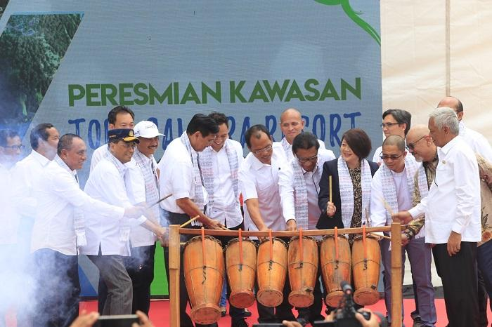 Pemerintah Gelontorkan Anggaran Rp4,04 Triliun untuk Pembangunan Insfratuktur dan Utilitas Dasar Danau Toba