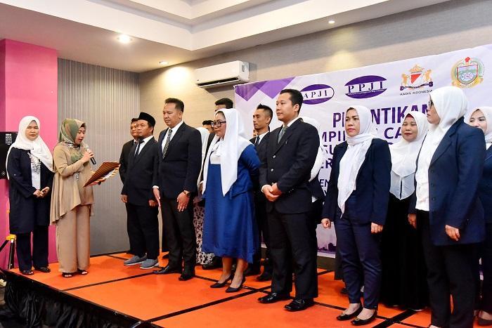 Pelantikan Pengurus PPJI Sumut, Pemprov Harapkan Pelaku Industri Berikan Manfaat ke Masyarakat