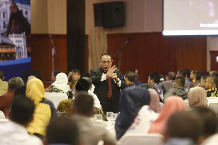 Gubernur Paparkan Rencana Pembangunan Sejumlah Proyek Infrastruktur Sumut