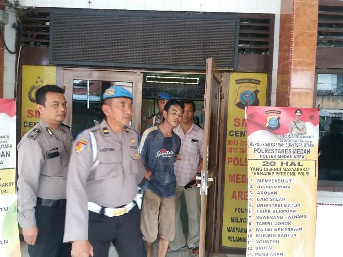Personil TNI Dihajar Linggis di Pasar Sukaramai, Usai Belanja Keperluan Pernikahan