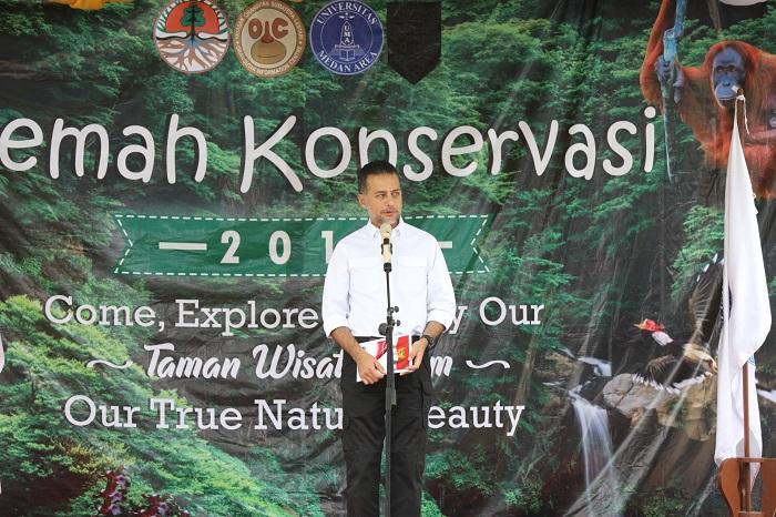 UMA Gelar Kemah Konservasi, Ijeck Harapkan Pelestarian Lingkungan Tak Hanya Seremonial