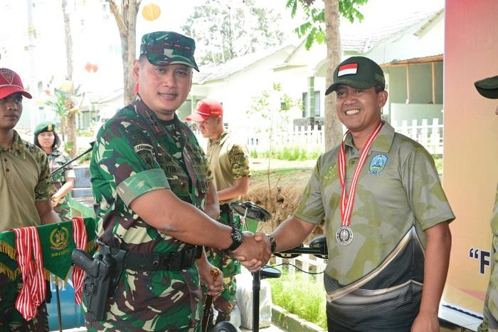 Dandim 0819/Pasuruan Peringkat Kedua Lomba Tembak Eksekutif di Malang