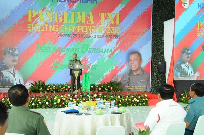 Kejurnas Piala Panglima TNI Tahun 2019 Diikuti 1.200 Atlet Tembak