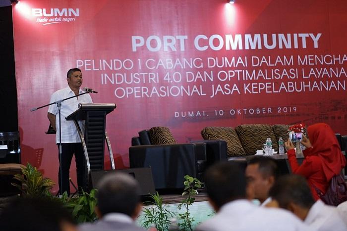 Pelindo 1 Cabang Dumai Gelar Port Community, Hadapi Persaingan Era Industri 4.0