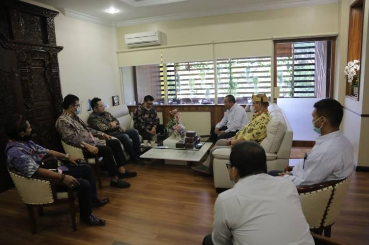 Silaturahmi dan Koordinasi KAD Anti Korupsi Sumut ke PLN Wilayah Sumatera Utara
