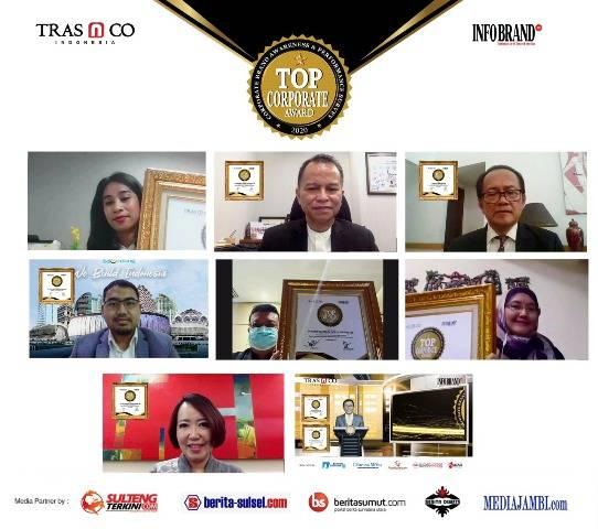 Top Corporate Award 2020, 96 Perusahaan Terbukti Pertahankan Kinerja Positif di Masa Pandemi