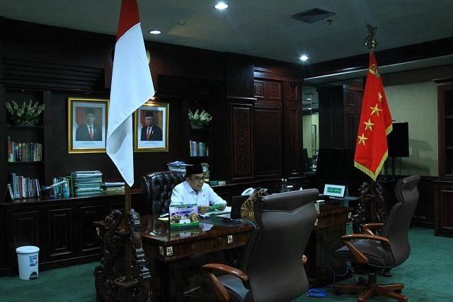 Menteri Agama Fachrul Razi Ajak Ormas Islam Gerakkan Wakaf Uang