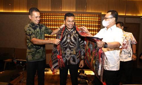 Silaturahmi Bersama Rombongan DPR Aceh, Wagub Sumut Dorong Komunikasi Efektif Antar Provinsi