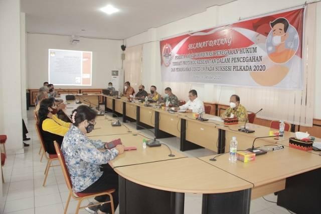 Pjs Walikota Gunungsitoli: Pilkada 2020 Jangan Sampai Muncul Cluster Covid-19 yang Baru