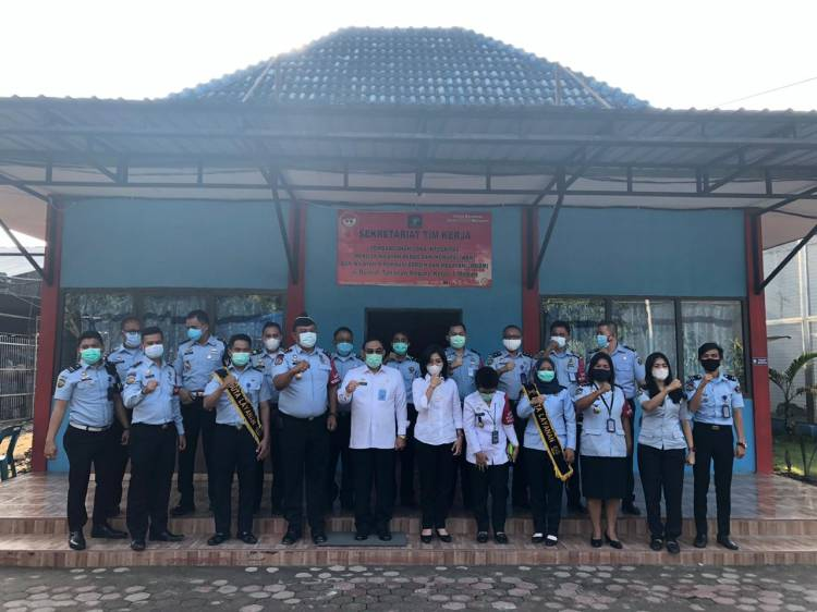 Staf Ahli Bidang Sosial Kemenkumham Meninjau Rutan Kelas I Medan, Siapkan Zona Integritas Menuju WBK/WBBM