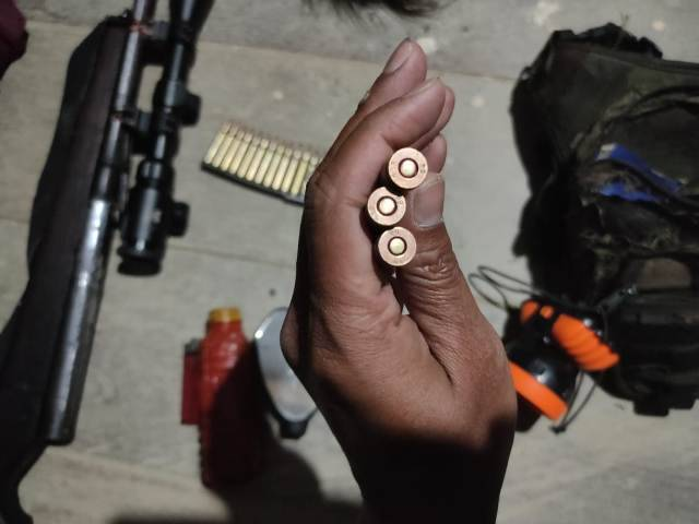 KKSB dan TNI Baku Tembak di Papua, Senpi dan 19 Butir Amunisi Jadi Barang Bukti