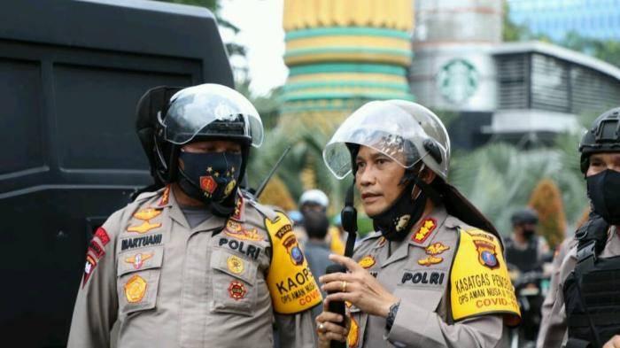 Hadapi Aksi Demo Tolak Omnibus Law di Medan, Polda Sumut Utamakan Sikap Humanis