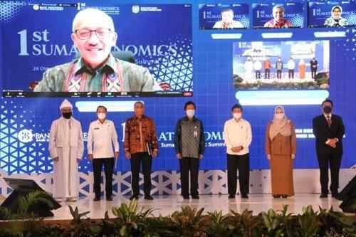 Konferensi Sumatranomics 2020 Digelar di Kota Medan, Pjs Wali Kota Arief Sudarto Berikan Apresiasi