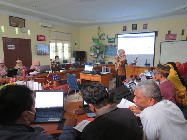 MTs Negeri 2 Medan Gelar Pelatihan CBT e-learning, Tingkatkan Keterampilan Guru Mengajar Daring