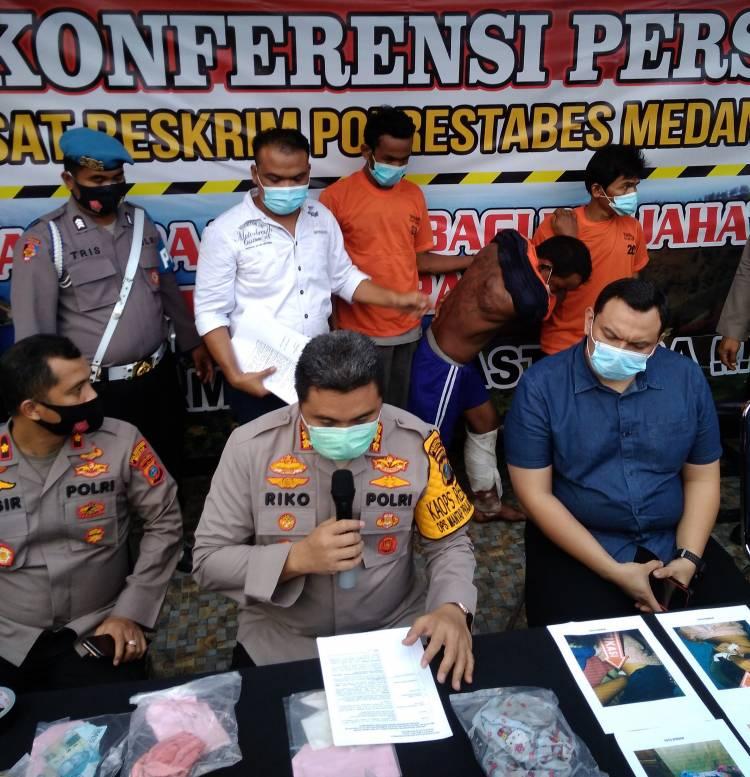 Pembunuh dan Pemerkosa Siswa SMK di Medan Sunggal Ternyata Paman Sendiri, Polsek Sunggal Tembak Pelaku