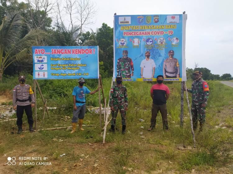 Sinergitas TNI-Polri Dalam Upaya Pencegahan Penyebaran Virus Covid-19