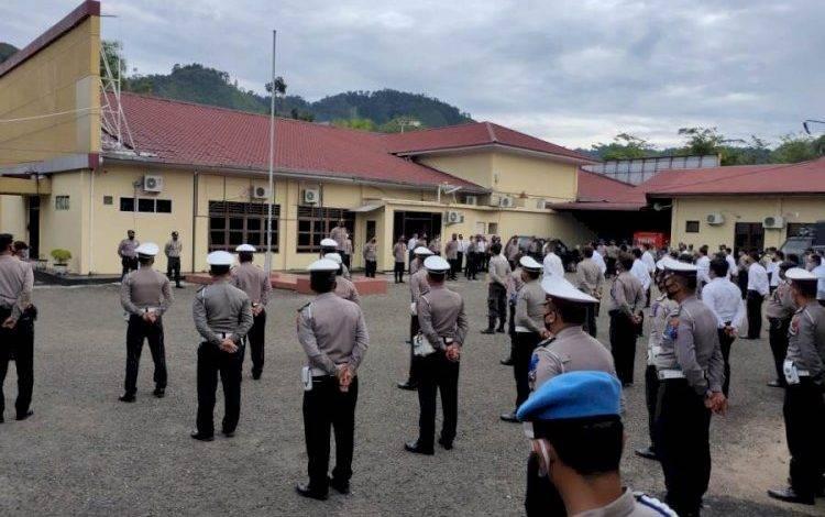 Operasi Zebra Polres Sibolga, Razia Masker dan Kelengkapan Berkendara