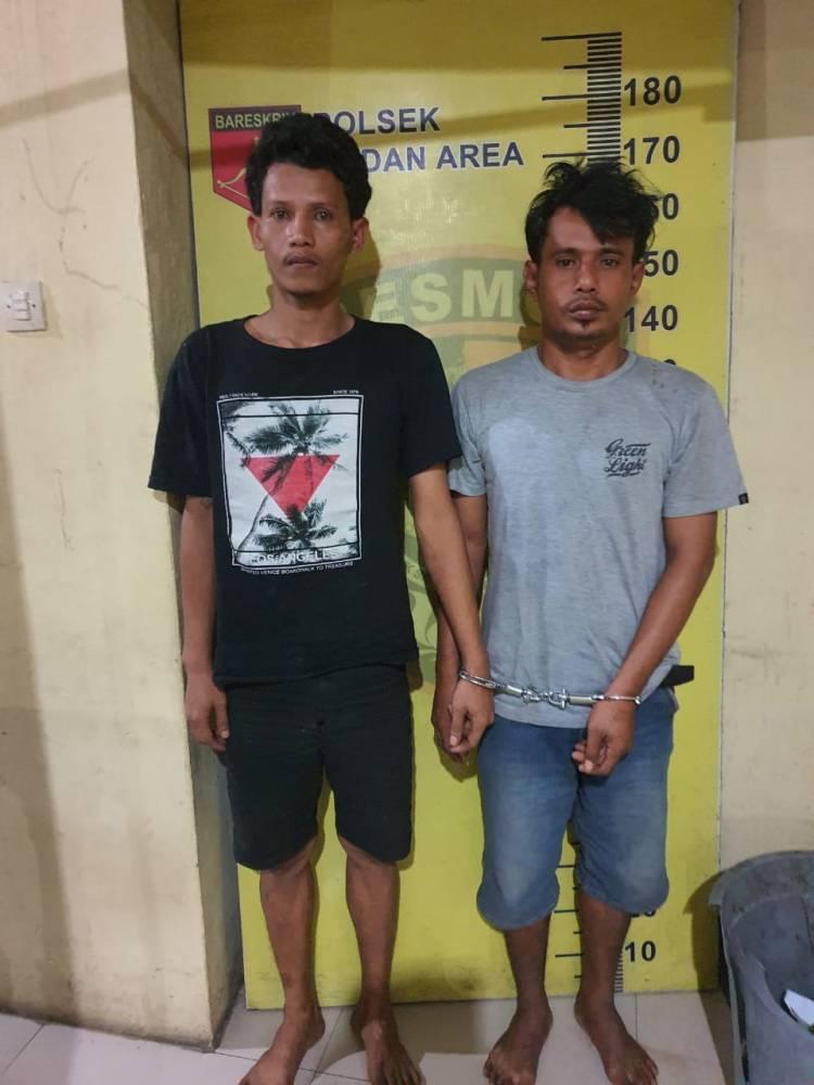 Dua Orang Komplotan Pelaku Bongkar Rumah Ditangkap