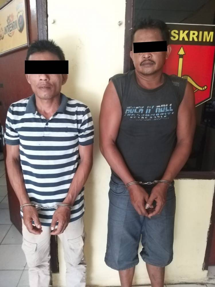 Hendak Menggunakan Narkoba, Dua Pria Warga Desa Naga Timbul Tamora Diciduk Polisi