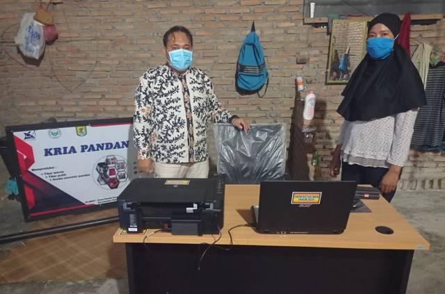 Kemenristek/BRIN dan LPPM Unimed Lestarikan Budaya Melayu di Sergai, Digitalisasi Pengrajin Anyaman