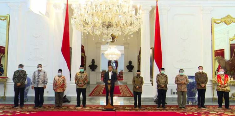 Presiden Jokowi: Indonesia Mengecam Keras Pernyataan Presiden Prancis yang Menghina Agama Islam