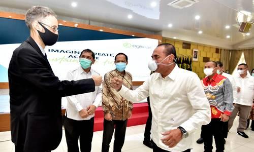 Gubernur Sumut Teken MoU Perencanaan Mobilitas Perkotaan Berkelanjutan MEBIDANGRO