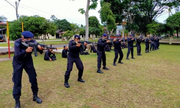 Batalyon C Brimob Sumut Gelar Latihan Anti Teror dan Penjinakan Bom