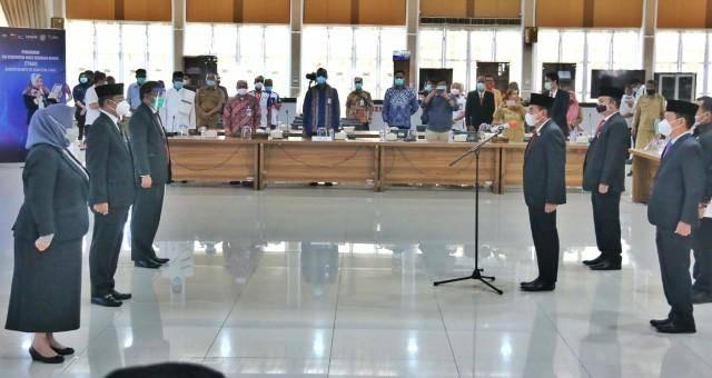 Sekda Wiriya Alrahman Dilantik Jadi Koordinator TPAKD Kota Medan