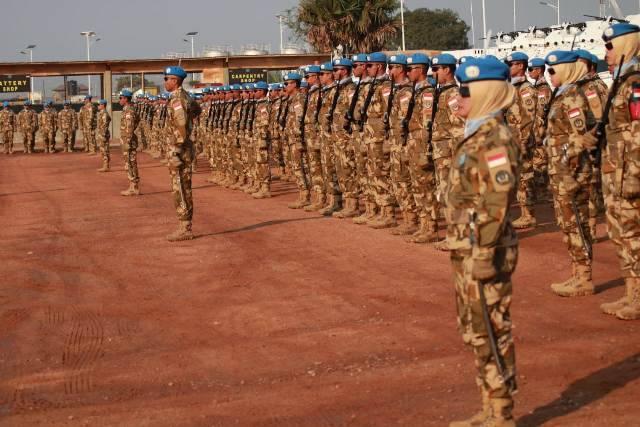 850 Prajurit Satgas Konga XXXIX-B RDB Terima Penghargaan dari PBB