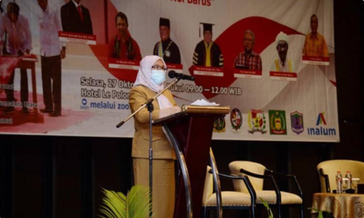 Sekdaprovsu Sabrina Sebut Gubernur Usulkan Kongres Bahasa 2023 Digelar di Sumut