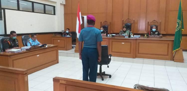 Pengadilan Militer, Majelis Hakim Vonis 12 Tahun Penjara Pembunuh Babinsa Pekojan