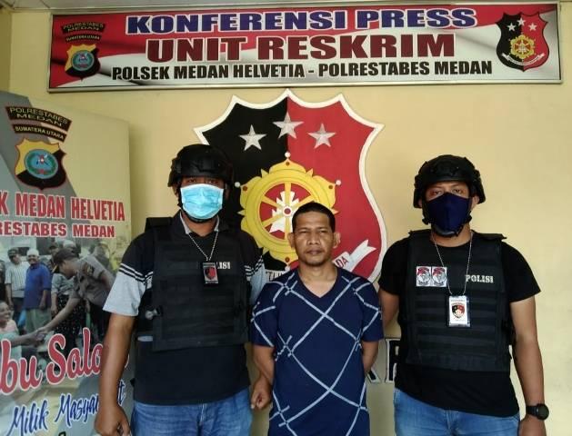 Aniaya Marbot Mushola di Jalan Kelambir V, Pria Ini Berakhir di Kantor Polisi