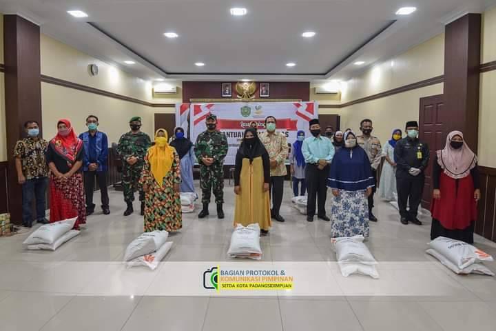 Pemko Padangsidimpuan Launching Bantuan Sosial Beras Program Keluarga Harapan