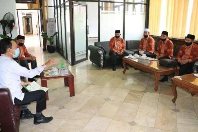 Pjs Wali Kota Medan Arief Sudarto Terima Audiensi Pengurus IPQAH Medan