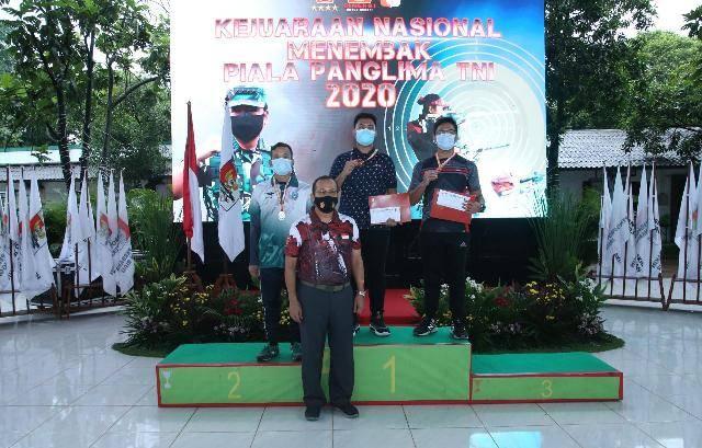 Tutup Kejurnas Menembak 2020, Panglima TNI Sebut Prestasi Masing-Masing Kontingen Cerminan Kerja Keras Para Atlet