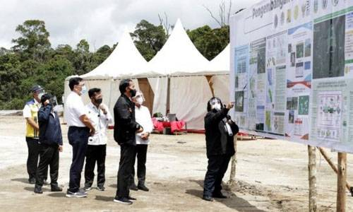 Presiden RI Tinjau Kawasan Lumbung Pangan di Humbahas, Gubernur: Jadikan Peninjauan Sebagai Motivasi Sumut