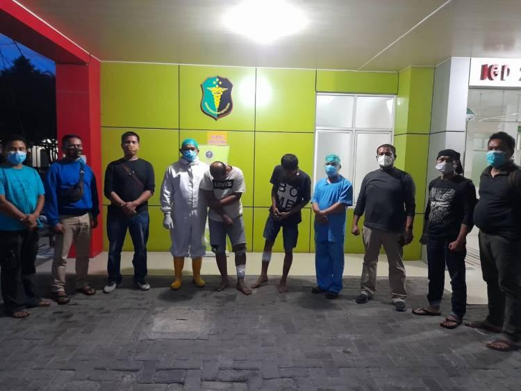 Polisi Tembak Komplotan Curanmor di Medan