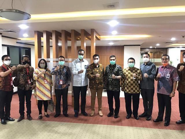 Pengurus KAD Anti Korupsi Sumut Silaturahmi ke Bank Sumut, Bersama Cegah Korupsi Dini