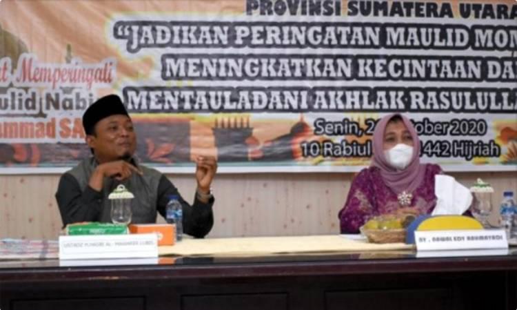 Penasihat DPW Sumut Nawal Edy Rahmayadi Ajak Masyarakat Peringati Maulid Nabi dengan Gembira