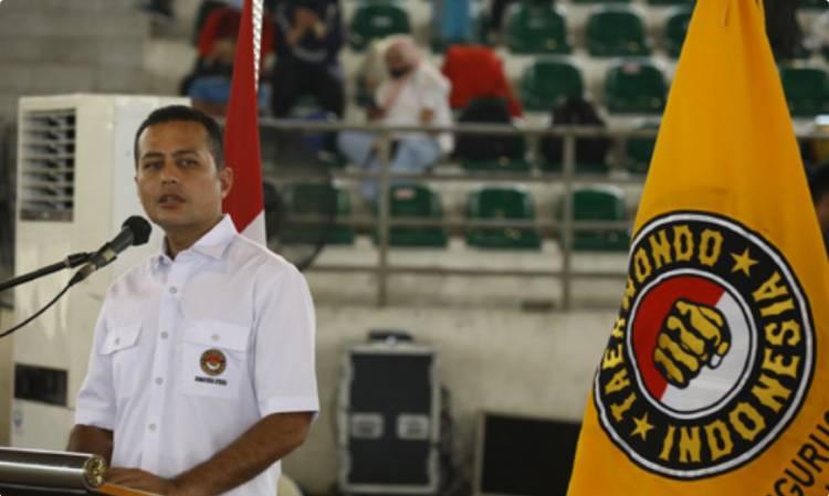 Wakil Gubernur Buka UKT Taekwondo Indonesia di GSG Pemprov Sumut, 725 Atlet Kota Medan Siap Hadapi PON