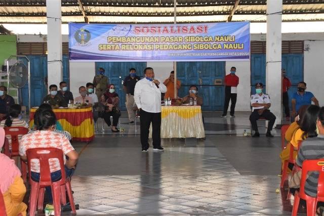 Utamakan Kesejahteraan Pedagang, Walikota Sibolga Tunda Pembangunan Pasar