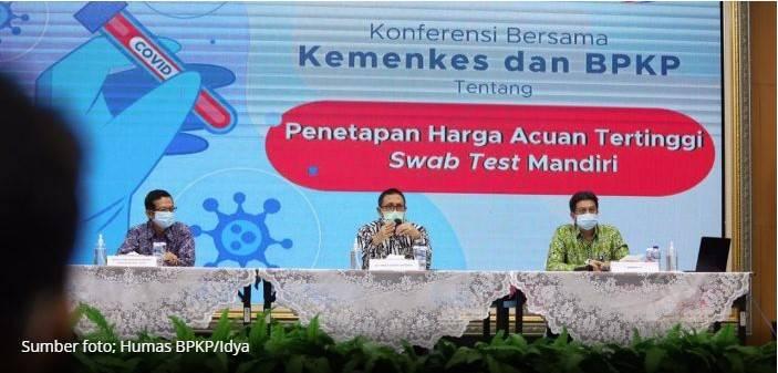 Batas Tertinggi Biaya Swab Test Mandiri Ditetapkan Pemerintah Rp.900.000