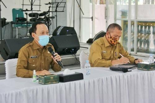 Pjs Walikota Medan Instruksikan Pengawasan Taman Kota