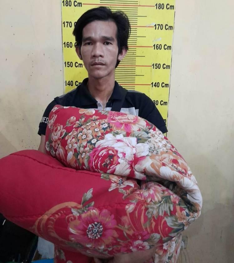 Polsek Delitua Tangkap Pencuri Bongkar Rumah Warga di Jalan Jamin Ginting