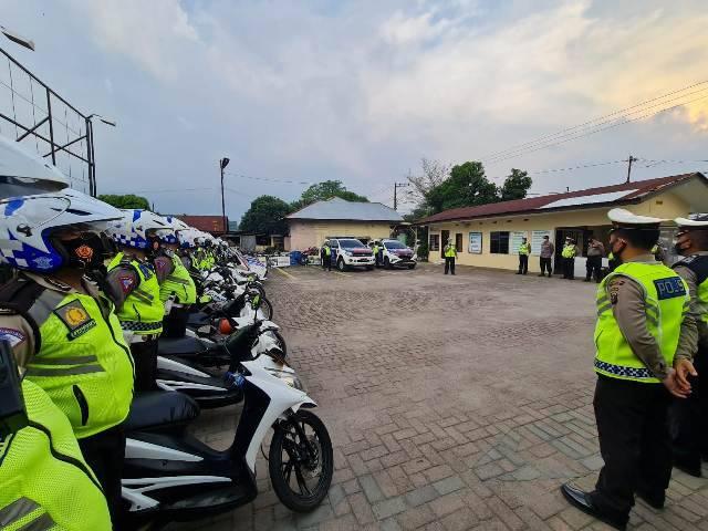 Libur Panjang, Jalur Wisata Medan-Penatapan Tanah Karo Diamankan Satlantas Polrestabes Medan
