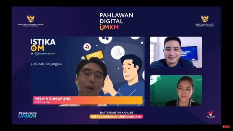 20 Inovator Lolos Tahapan Pahlawan Digital UMKM