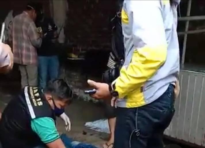 Warga Padang Bulan Dihebohkan dengan Penemuan Mayat di Jalan Jamin Ginting