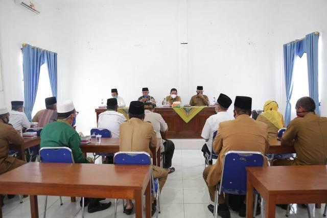 Kunjungi MUI dan BAZNAS, Pjs Bupati Labuhanbatu Ingin Pejabat Dekat dengan Ulama