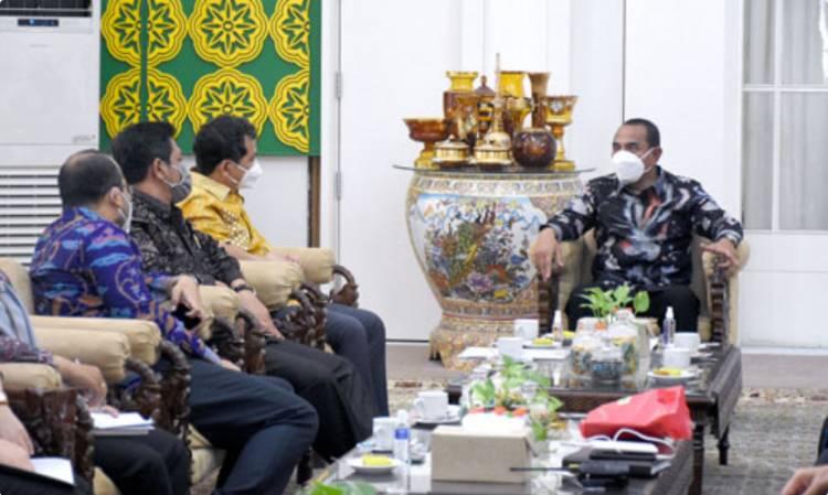 BPK RI Kunjungi Provinsi Sumut, Gubernur Edy Rahmayadi: Penanganan Covid-19 Harus Transparan dan Akuntabel