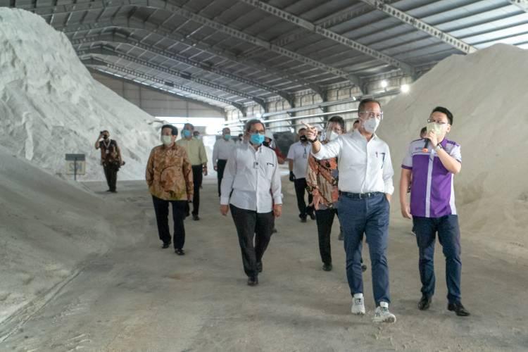 Tindaklanjut Arahan Presiden, Menperin Susun Strategi Peningkatan Produktivitas Garam Rakyat